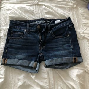 American Eagle Jean Shorts size 00